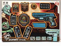 Игровой набор Zombie Shot в комплекте оружие и аксессуары, в кор. 50*35*4см /36-2/ (NF170B)