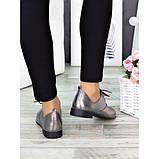 Женские туфли кожаные сатин Эвелин 7270-28, фото 2