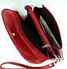 Женский клатч Karya 1121-074 кожаный красный, фото 5