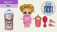 Герои Bela Dolls кукла 25см в капсуле , свет, музыка, 14 см, в уп-ке 15,5*15,5*28,5см /36/ (BL1170)