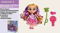 """Кукла """"H"""" 1 вид,с аксессуарами, в кор.17*8,5*20,5см /36-2/ (DH2212F-2)"""
