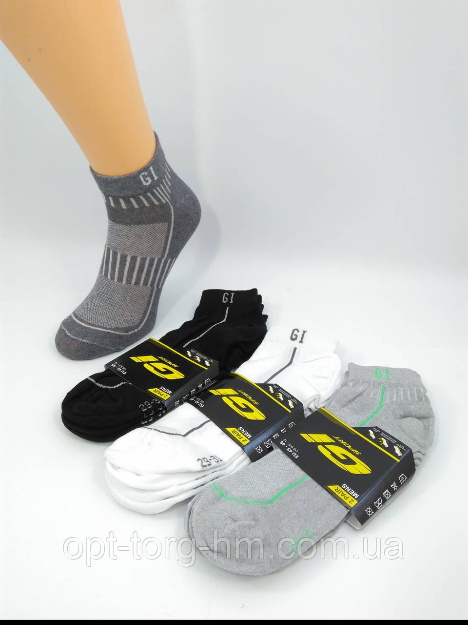 """Спортивные мужские носки сетка """"GI SPORT"""" 29-31 (43-45 обувь)"""