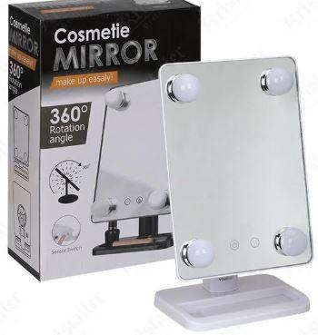 Зеркало для макияжа Cosmetie mirror 360 зеркало с подсветкой для макияжа