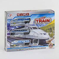 Железная дорога на 17 деталей, на батар, в кор. /48-2/ (JHX8808)