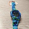 Skmei 1547 KIDS голубой камуфляж спортивные детские часы, фото 5
