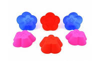 Цветочек поштучно силиконовая форма для выпечки, фото 1
