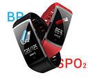 Фитнес-браслет с измерением пульса и давления Smart Band R12 Красный, фото 2