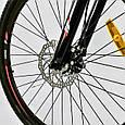 """Велосипед Спортивный CORSO X-Turbo 26""""дюймов 0015 - 701 BLACK-RED (1) рама металлическая 17``,, фото 5"""