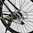 """Велосипед Спортивный CORSO X-Turbo 26""""дюймов 0015 - 701 BLACK-RED (1) рама металлическая 17``,, фото 6"""