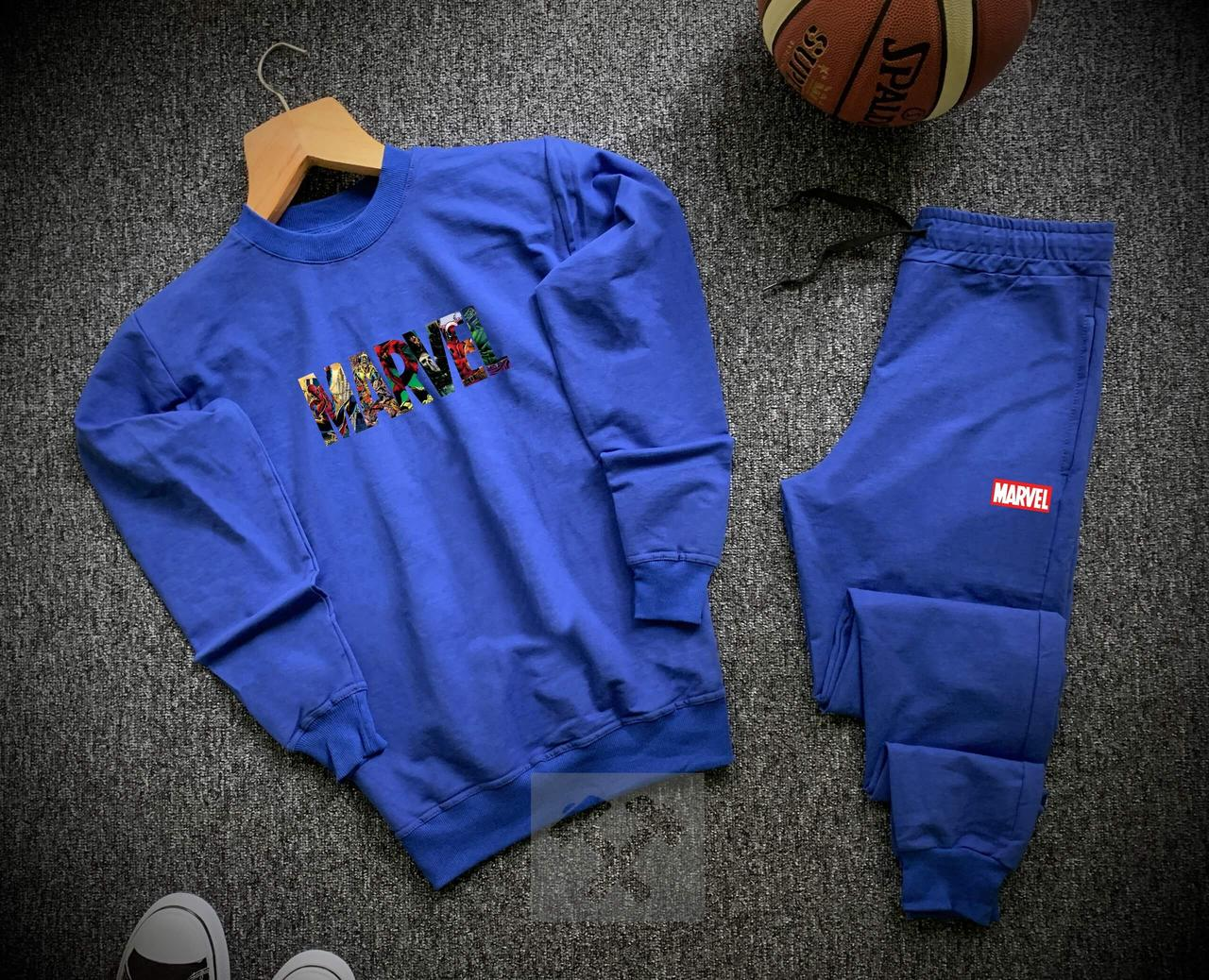 Спортивный костюм Marvel синего цвета