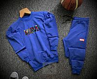 Спортивный костюм Marvel синего цвета, фото 1