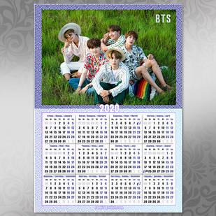 Плакат Календарь BTS 050