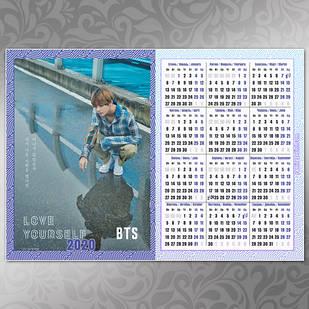 Плакат Календарь BTS 053