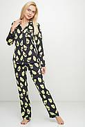 Пижама женская с авокадо пиджак, штаны Orli, фото 2