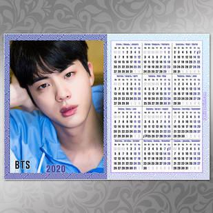 Плакат Календарь BTS 064