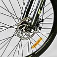 """Велосипед Спортивный CORSO X-Turbo 26""""дюймов 0015 - 793 GREY-YELLOW (1) рама металлическая 17``, 21 скорость,, фото 5"""