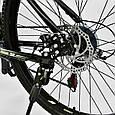 """Велосипед Спортивный CORSO X-Turbo 26""""дюймов 0015 - 793 GREY-YELLOW (1) рама металлическая 17``, 21 скорость,, фото 6"""