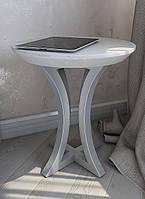 Прикроватная тумбочка-стол Лион из массив ясеня