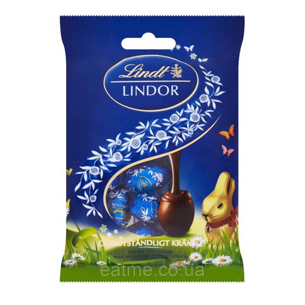 Lindt lindor Яйца из темного шоколада