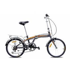 """Велосипед складной CROSSRIDE 20 FLD ST """"CITY FOLDING"""" Серебристый"""