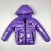 Куртка для хлопчиків та дівчаток 1247 Фіолетовий, 92-98-104-110-116 см, фото 1