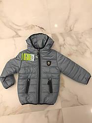 Детская демисезонная куртка Размеры 86-104