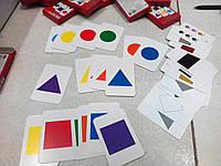 Развивающие карточки (фигуры и цвета)