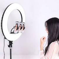 Кольцевая лампа Sofit Light Ultra 26 см с высоким штативом