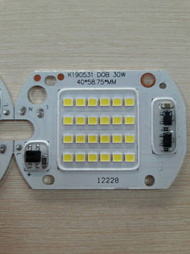 Матрица светодиодная для прожектора 220V 30W