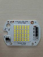 Матрица светодиодная для прожектора 220V 50W