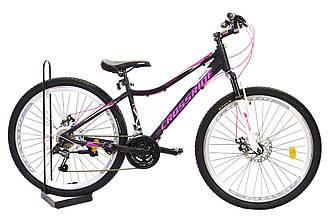 """Велосипед Crossride Molly Lady ST 24"""" 13"""" Черный"""