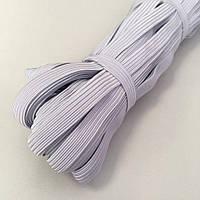 50м . Резинка 10мм белая для пошива медицинской маски (657-Л-7777)