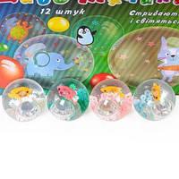 Мяч 5,5см BT-JB-0044 попрыгунчик свет + рыбка 6шт в п/э /192/ (BT-JB-0044)