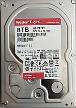 Жесткий диск HDD 8TB 5400rpm 256MB SATA III 3.5 WD Red WD80EFAX
