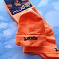 Носки женские короткие оранжевые размер 35-39, фото 3