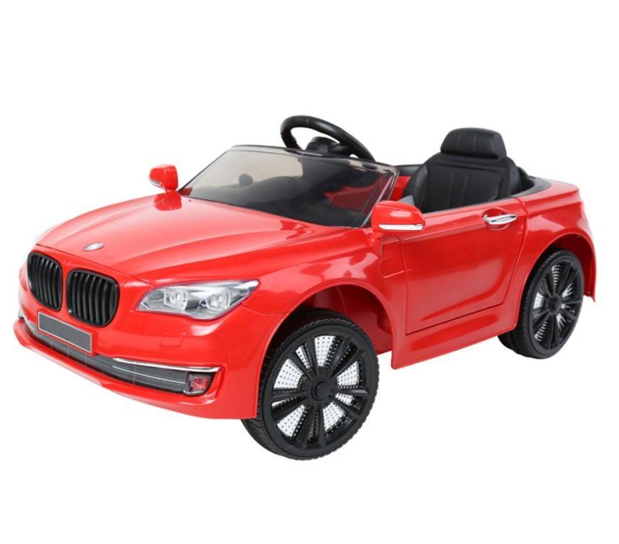 Детский электромобиль T-7615 EVA RED, BMW, красный