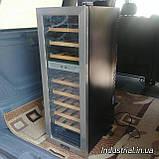 Винный холодильник Klarstein  76 литров 27 бутылок б/у Германия, фото 3