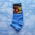Носки женские короткие  голубые размер 35-39, фото 2