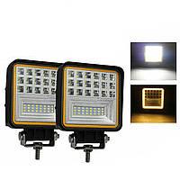 Led прожектор (светодиодная фара) 2x420W 12-24V