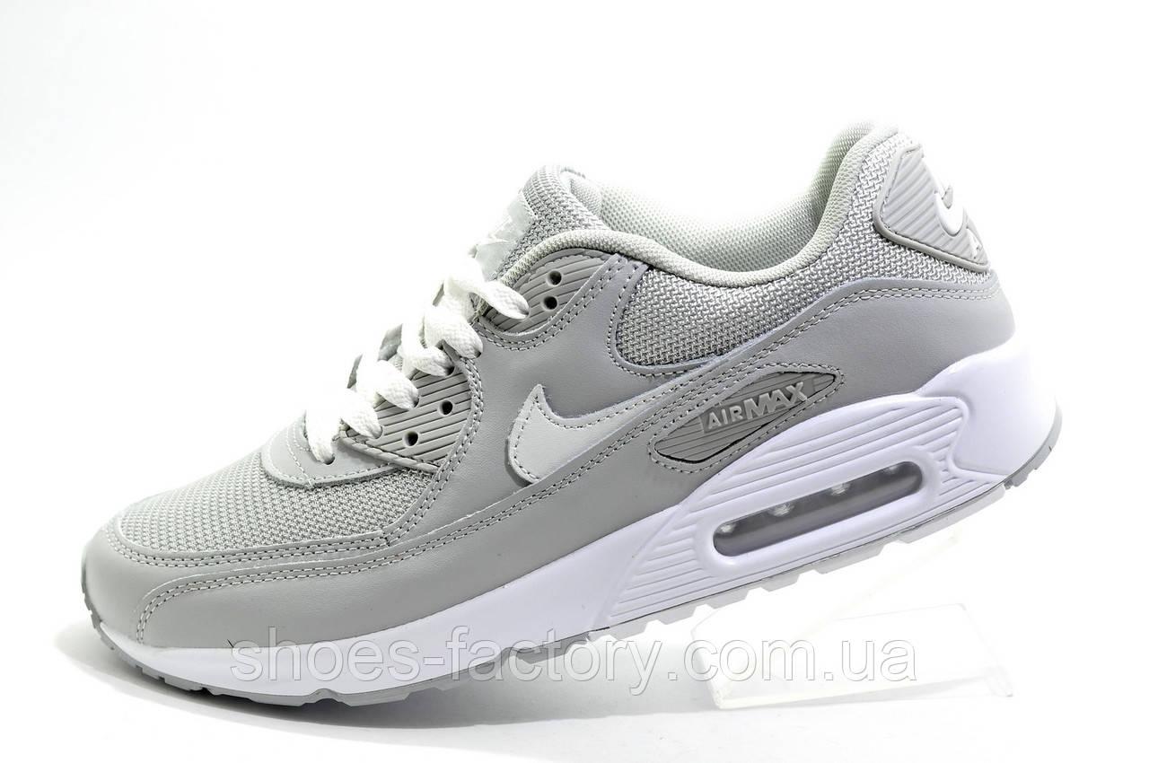 Кроссовки мужские в стиле Nike Air Max 90, Gray\White