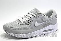 Кроссовки мужские в стиле Nike Air Max 90, Gray\White, фото 2