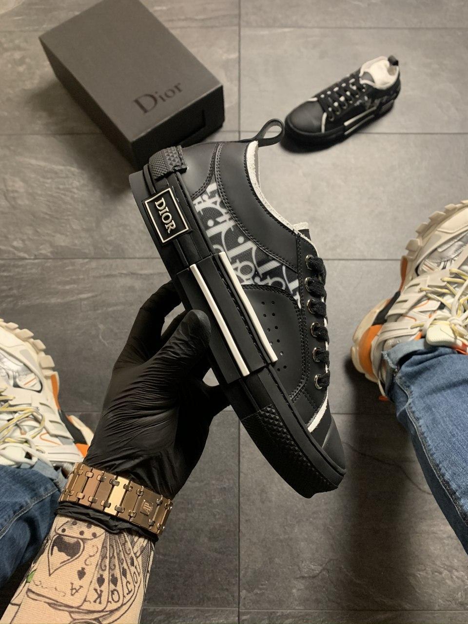 Dior B23 Low-Top Sneakers Black