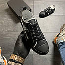 Dior B23 Low-Top Sneakers Black, фото 2