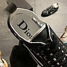 Dior B23 Low-Top Sneakers Black, фото 5