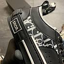 Dior B23 Low-Top Sneakers Black, фото 6