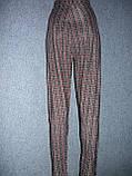 """Штани жіночі """"Ластівка"""". р. 3XL-4XL. Бамбук. Клітка., фото 5"""
