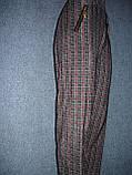 """Штани жіночі """"Ластівка"""". р. 3XL-4XL. Бамбук. Клітка., фото 7"""