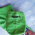 Носки женские короткие зелёные размер 35-39, фото 3