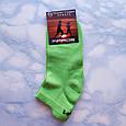 Носки женские короткие зелёные размер 35-39, фото 2