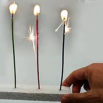 Свечи для торта SoFun velas chispeantes тортовые 40 шт